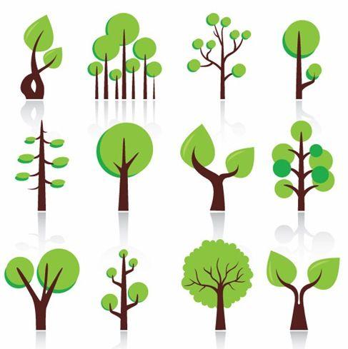 12 tree icon vector free download free vector art more small rh pinterest com au free vector tree brush free vector treasure map