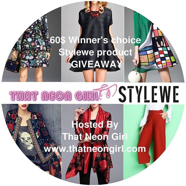 It S Giveaway Time This Time I Have Collaborated With One Of The Leading Online Fashion Store Stylewe Who Is Sponsorin Fashion Online Fashion Stores Neon Girl