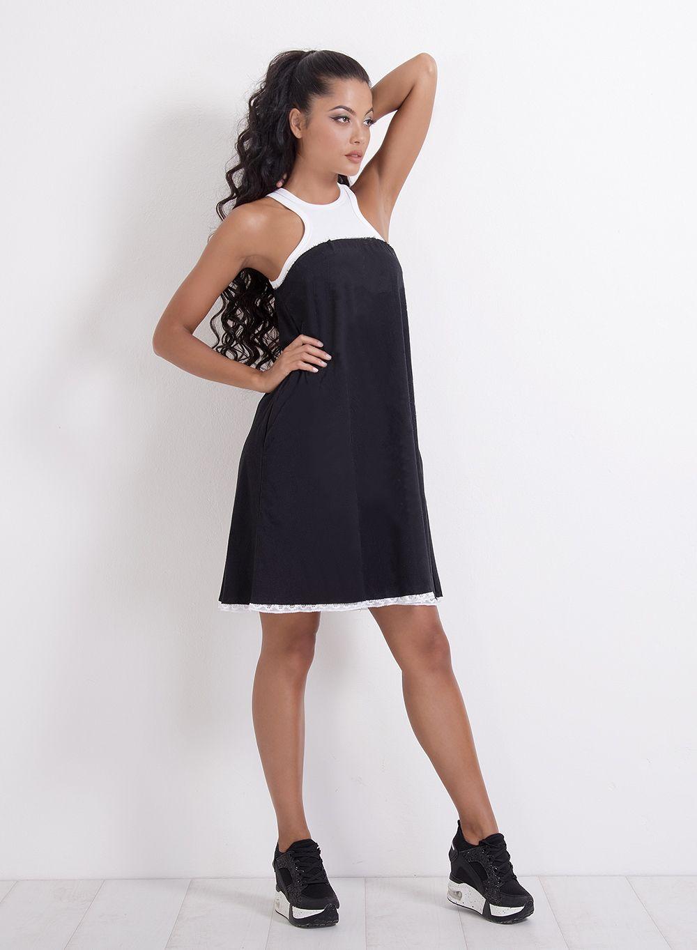 Woman dress summer dress cotton dress off shoulder dress short