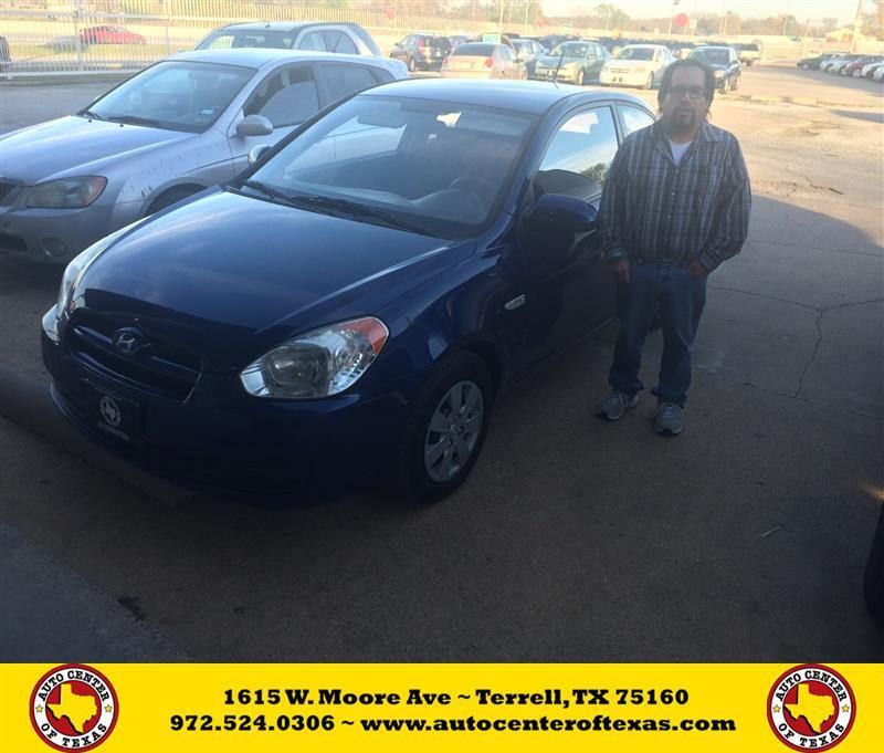 Congratulations Alejandro on your Hyundai Accent from