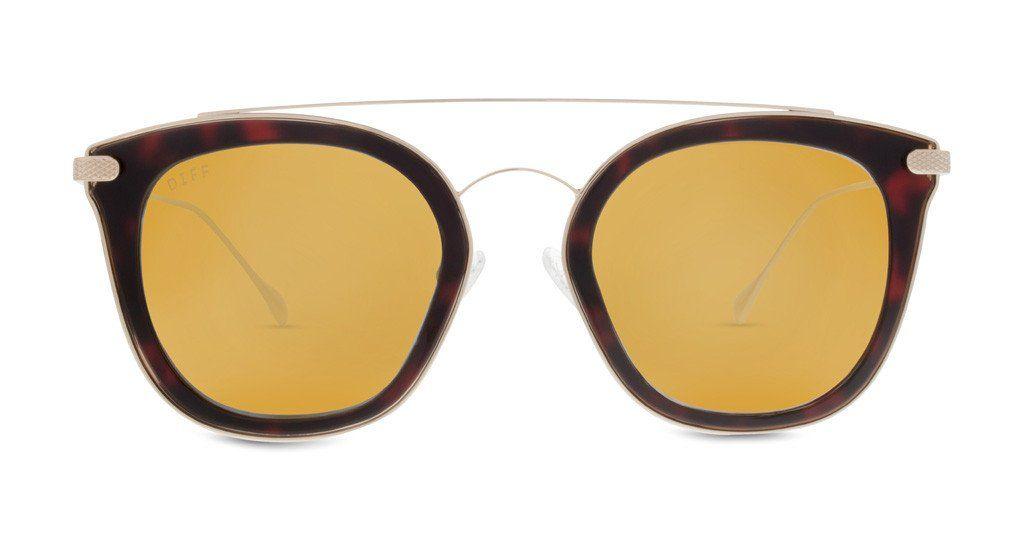 7e8eff03d7 Zoey - dark tortoise + gold mirror + polarized. Gold MirrorsTortoises EyewearLensesShop