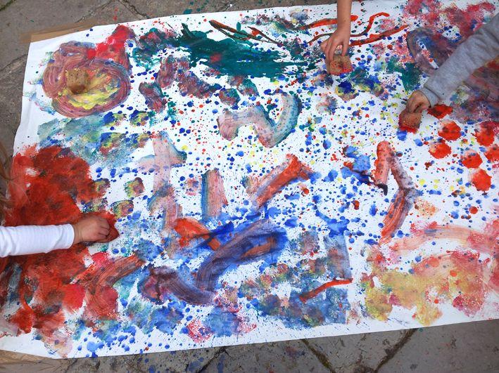 Bambini Pittura ~ Centri stanzetta bimbi centrini lino pittura per stoffa merletti