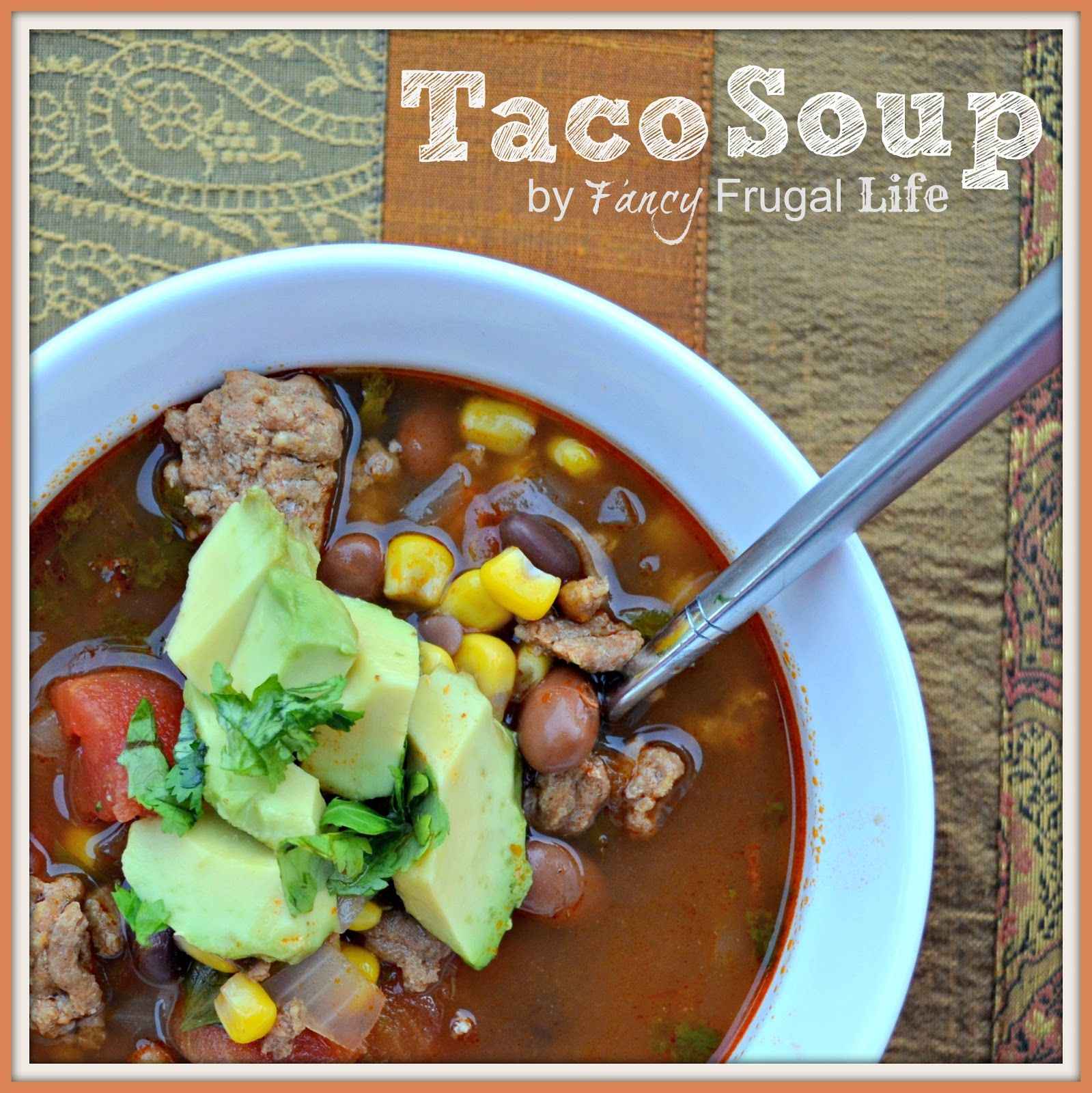 recipe: healthy taco soup with ground turkey [36]