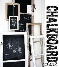 Méchant Studio Blog: chalkboard inspiration