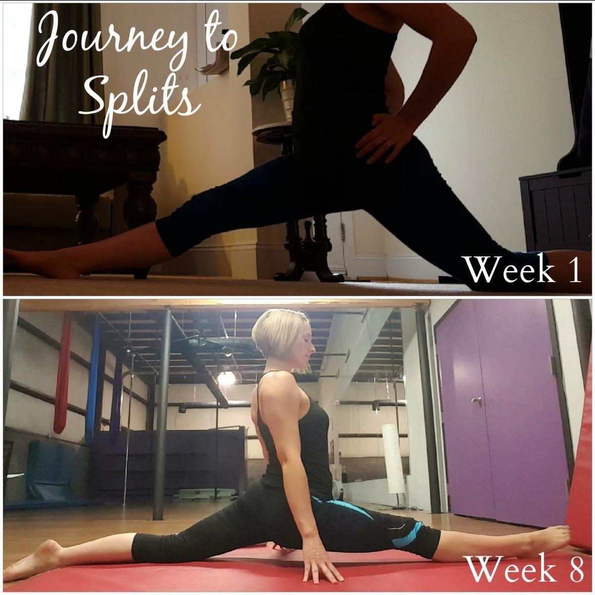 Journey to Splits: 8 Weeks Flexibility Training | PoleBody