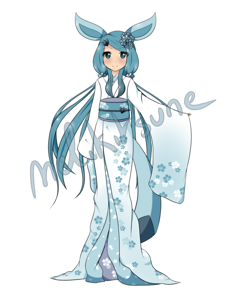 [CLOSED] Glaceon gijinka Adoptable by MeliKitsune ...