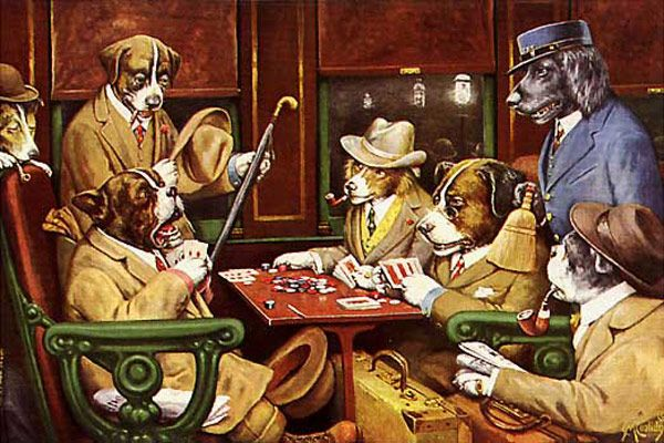 Most Famous Paintings List Of The World S Most Popular Painting Dogs Playing Poker Most Famous Paintings Popular Paintings