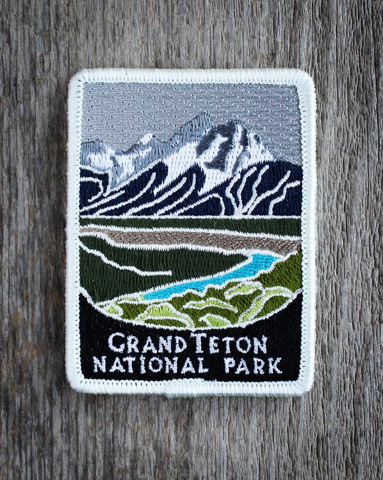 Souvenir Traveler Acadia National Park Patch Embroidered Patches