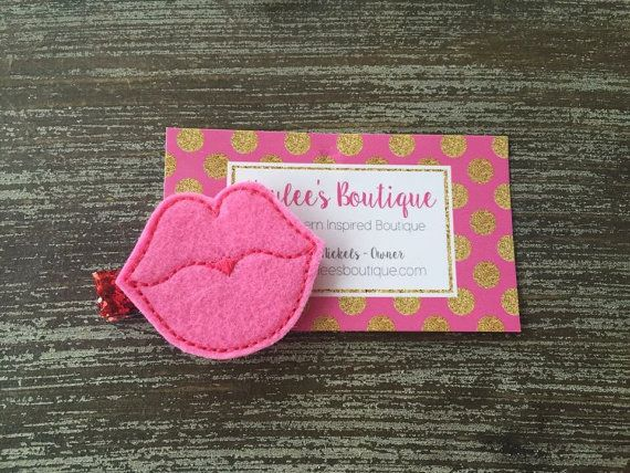 Valentines Day Hair Clip  Valentines Day by HBSouthernInspired