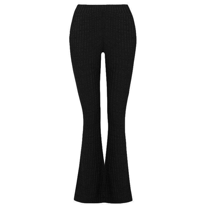 My Jewellery Flared broek zwart strepen | Broek outfit