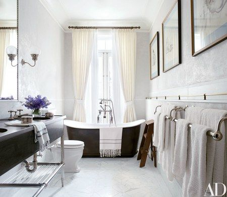 Custom Design Bathrooms Brilliant The Master Bath Includes A Freestanding Tub At The Window A Inspiration