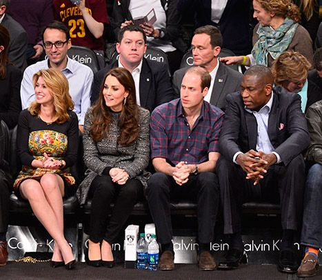 Kate Middleton, Prince William Meet Beyonce, Jay Z at NBA Game - copy jay z the blueprint 2 zip