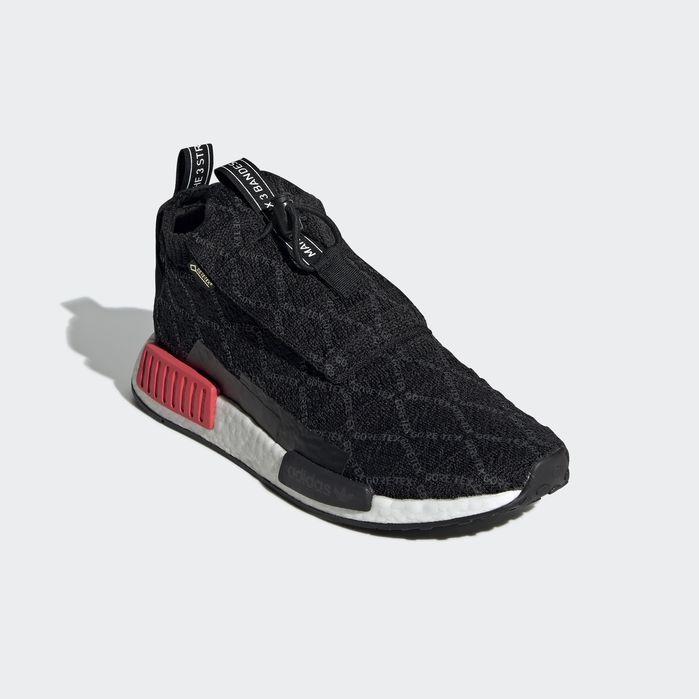 39522eee4f323 NMD TS1 Primeknit GTX Shoes Core Black 7.5 Mens in 2019