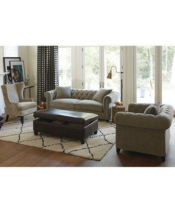 Martha Stewart Collection Saybridge Sofa   Furniture   Macyu0027s