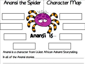 photo regarding Printable Anansi Stories identify Anansi and the Moss Included Rock Understanding Freebie