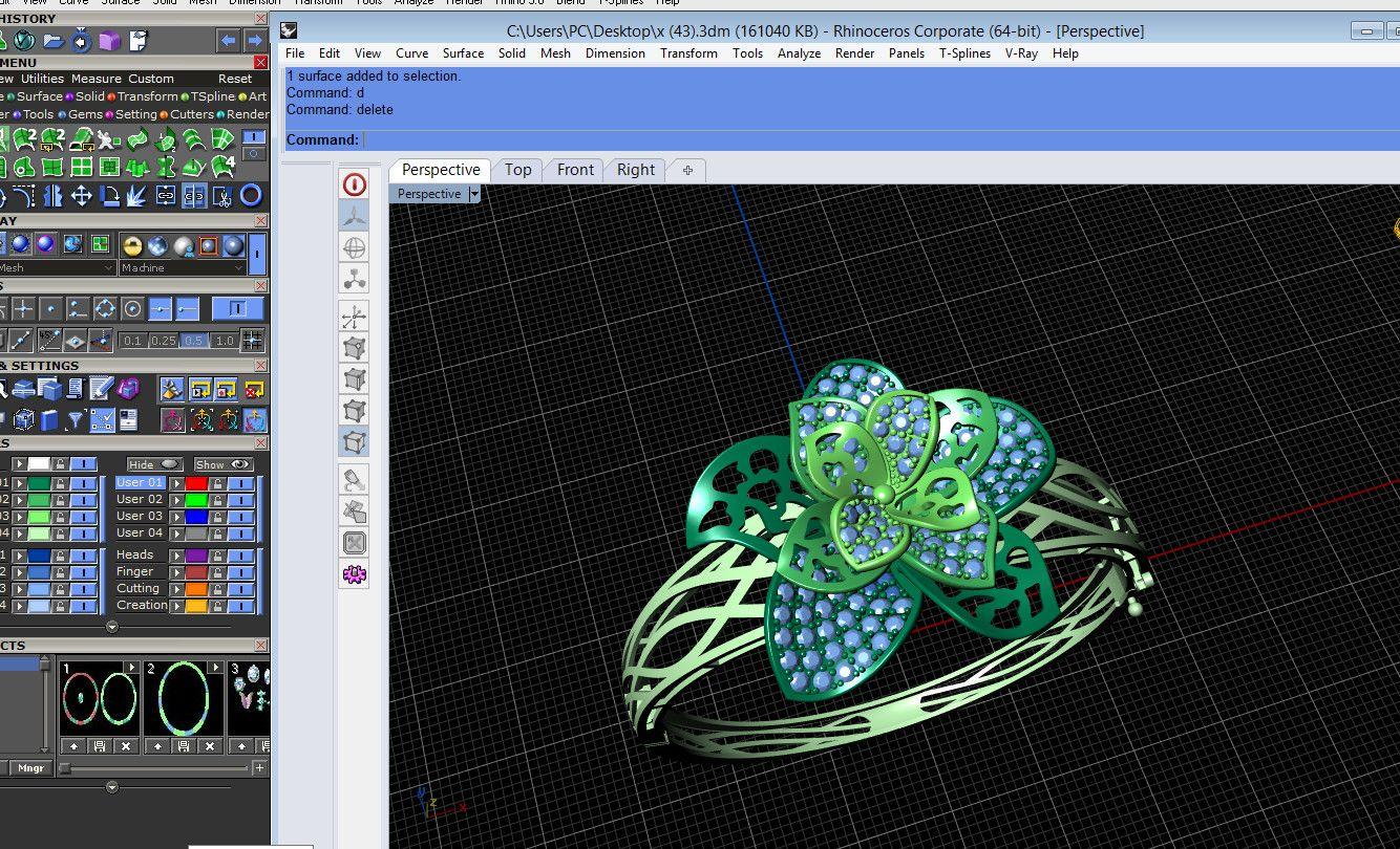 khóa Học thiết kế trang sức 3D