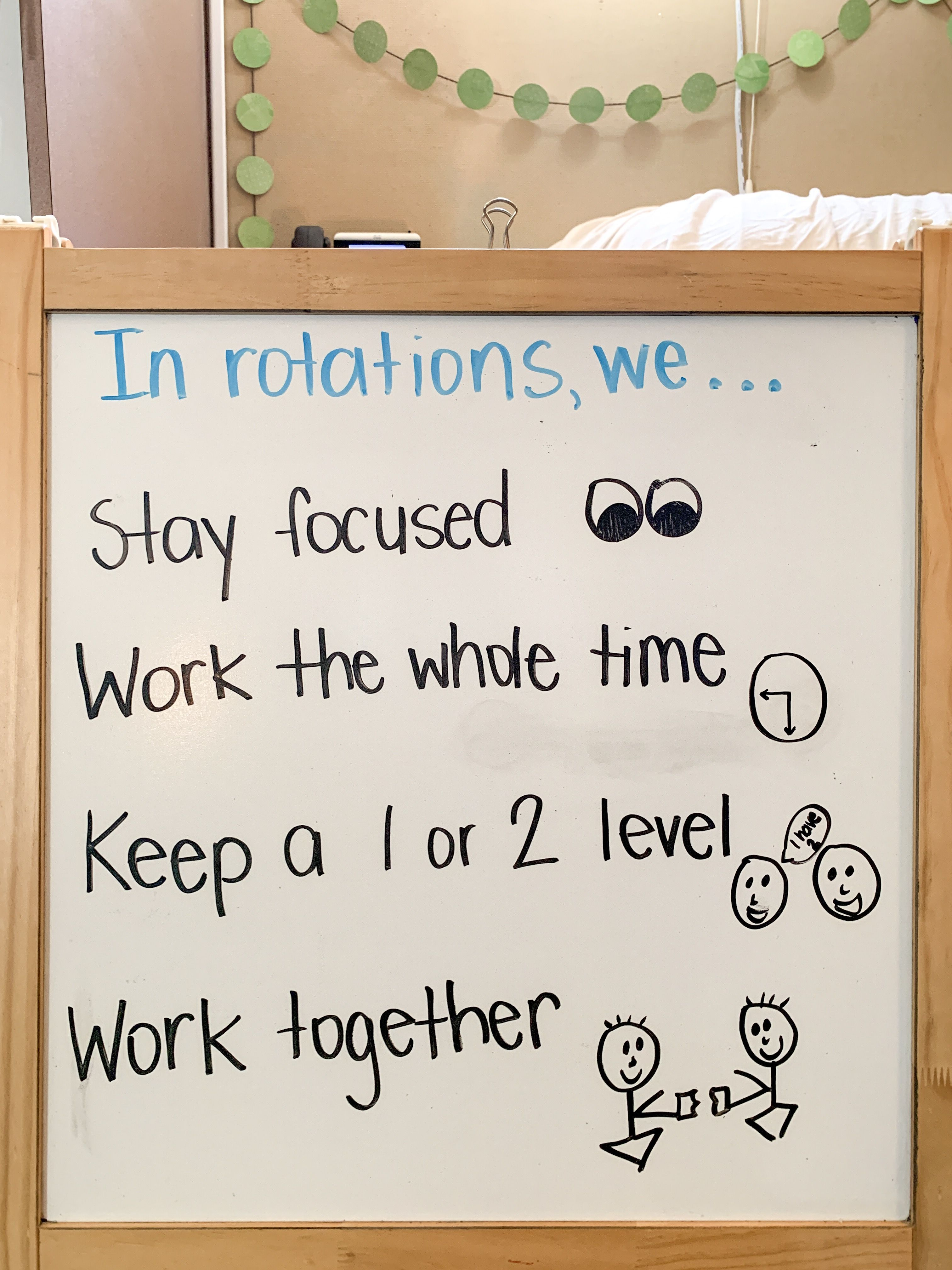 Set Expectations For Rotation Time With A Simple Mini