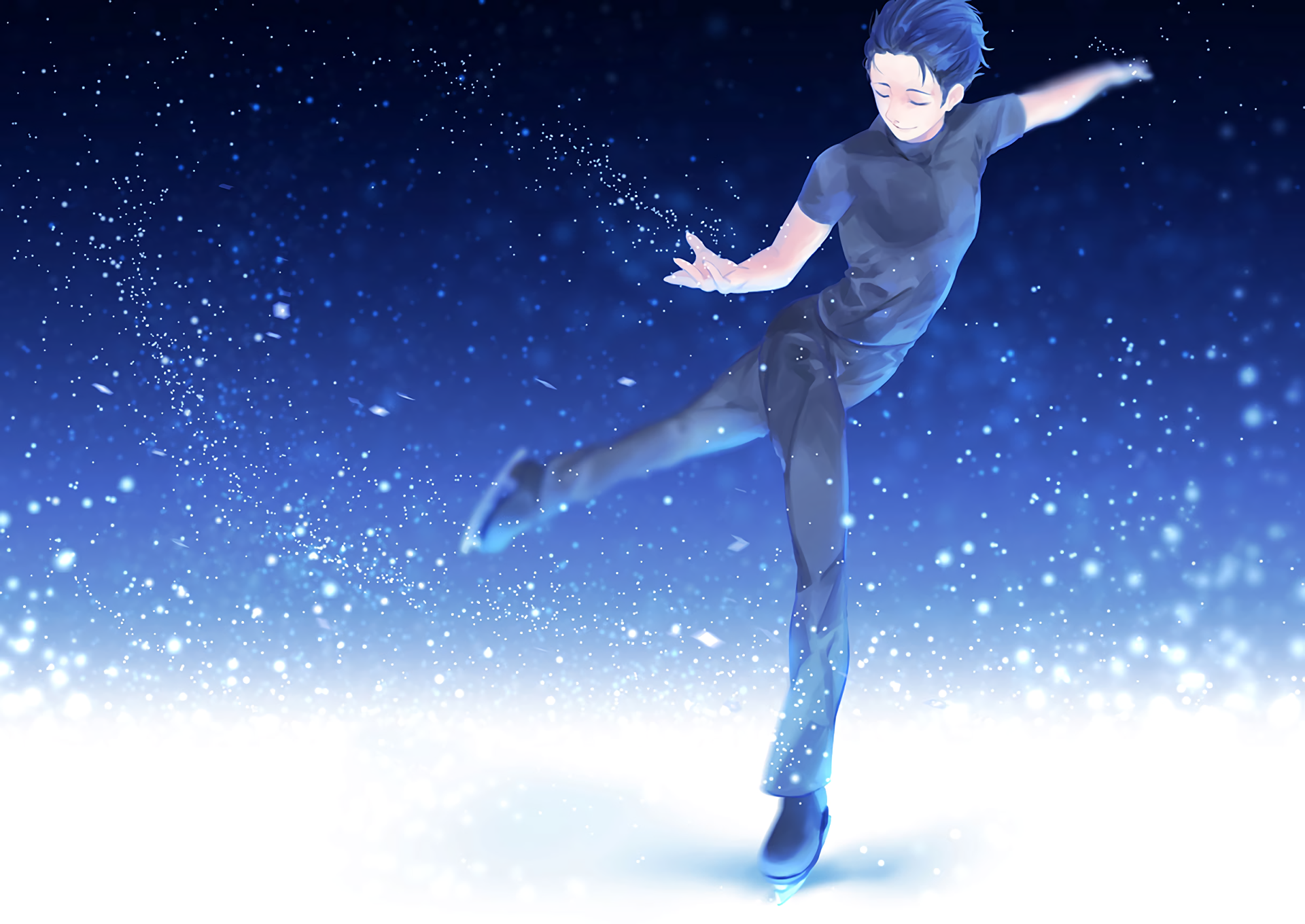 Yuri On Ice Wallpaper Desktop Yuri On Ice Yuri Yuuri Katsuki