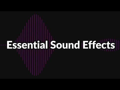 Essential Sound Effects for Animation Composer - YouTube