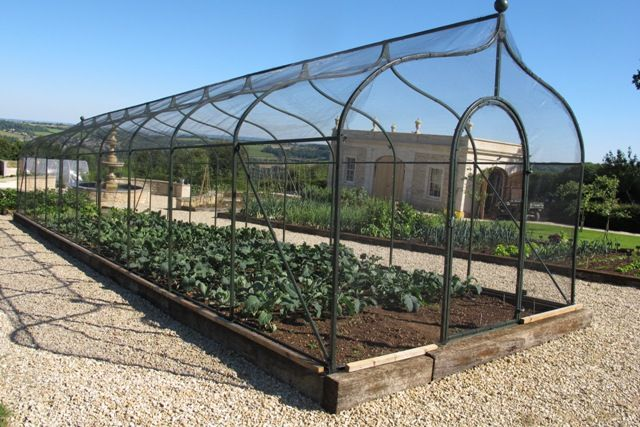 Beautiful These Large Fruit And Vegetable Cages (sometimes Described As U0027Pergolasu0027)  Were Commissioned By A Private Client On The Edge Of Bath.