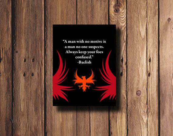 Game of thrones quote by Petyr Baelish wall art in by PrintsLM