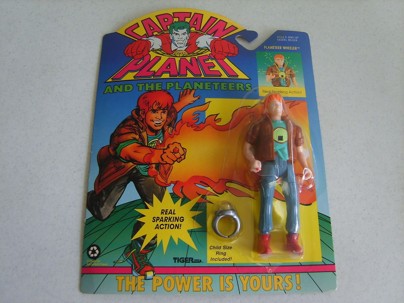 Claasic vintage toys vintage toys second shout out http www - Captain Planet Planteer Wheeler 1991 Tiger Toys Very Rare Ebay