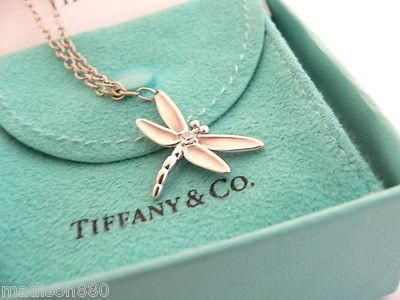 Overview Here Is A Gift That She Will Surely Adore Offered For Wonderful Tiffany Co 18k White Gold And Diamond Dragonfly Charm Bracelet