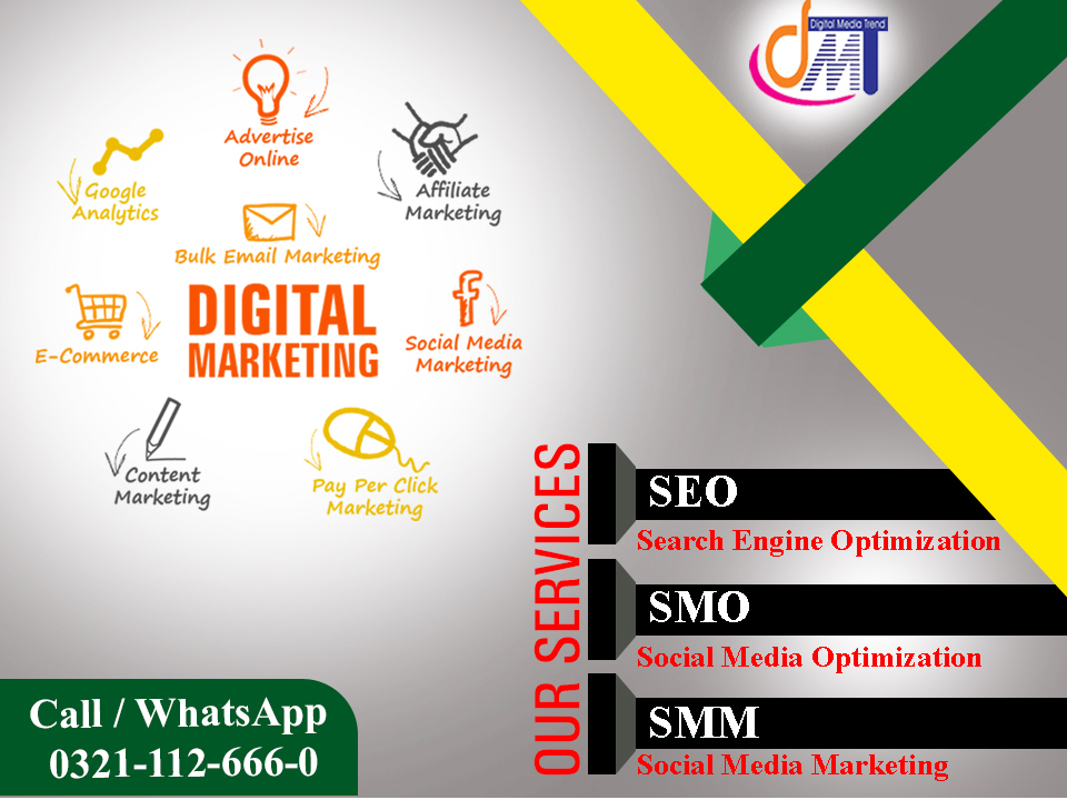 DMT provides you the best digital marketing training in