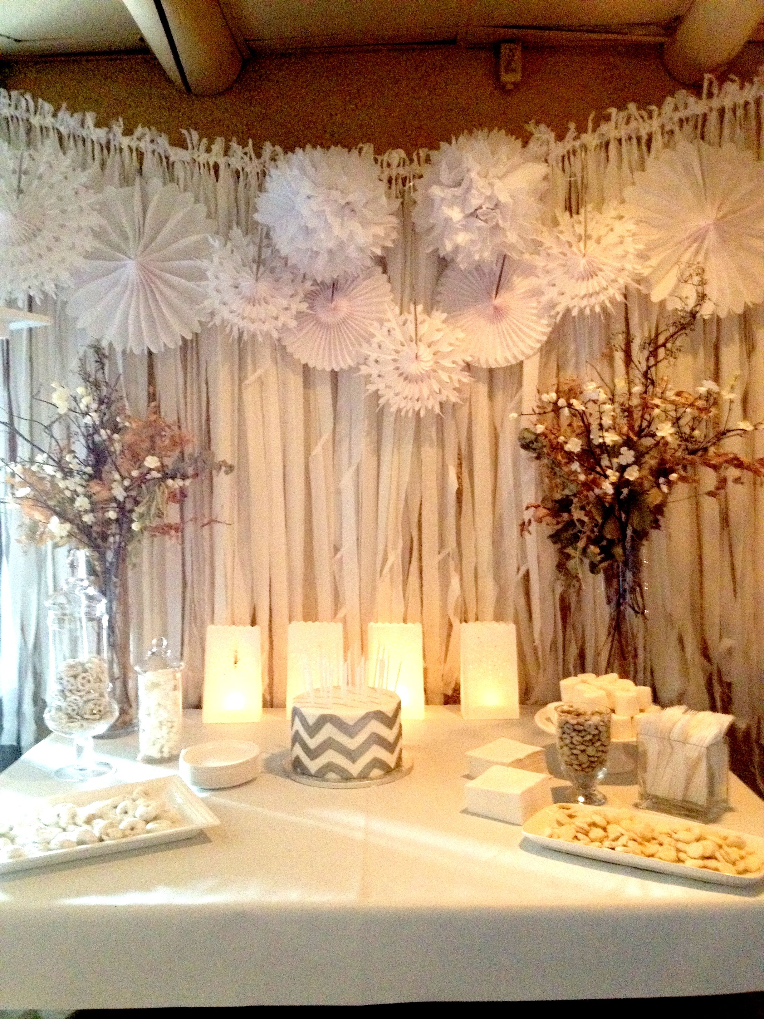 Pinwheels and fabric wall covering... | Merry me | Pinterest | Event ...
