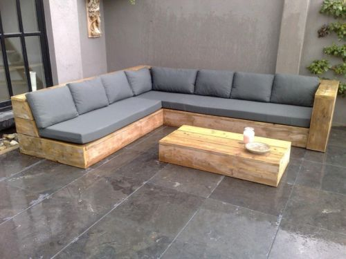 ge sten holz m bels eck sofa gartentisch terrassen bauholz in dortmund banquette ext rieure. Black Bedroom Furniture Sets. Home Design Ideas