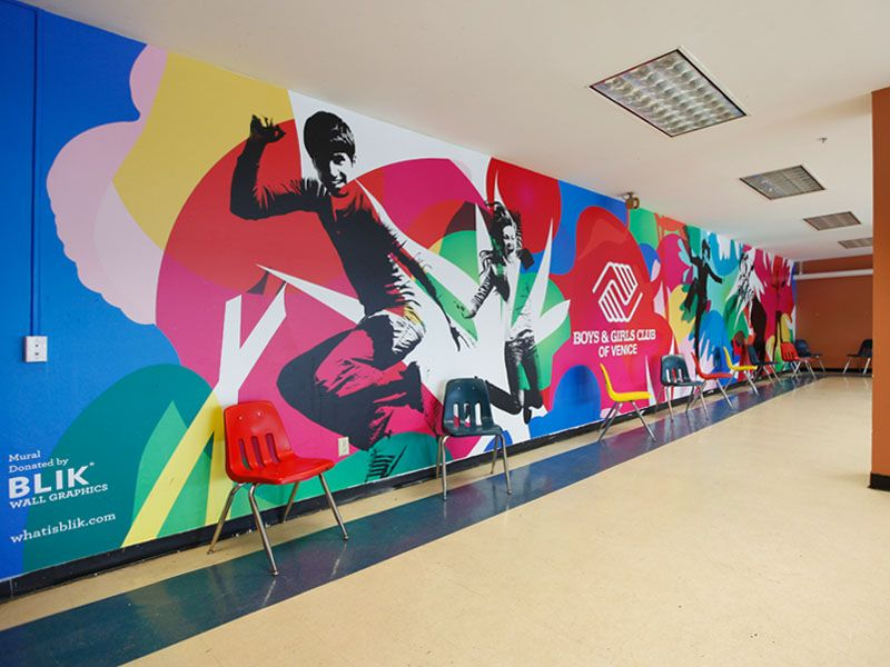 Customize Wall Graphics Mural Design Environmental Graphic Design