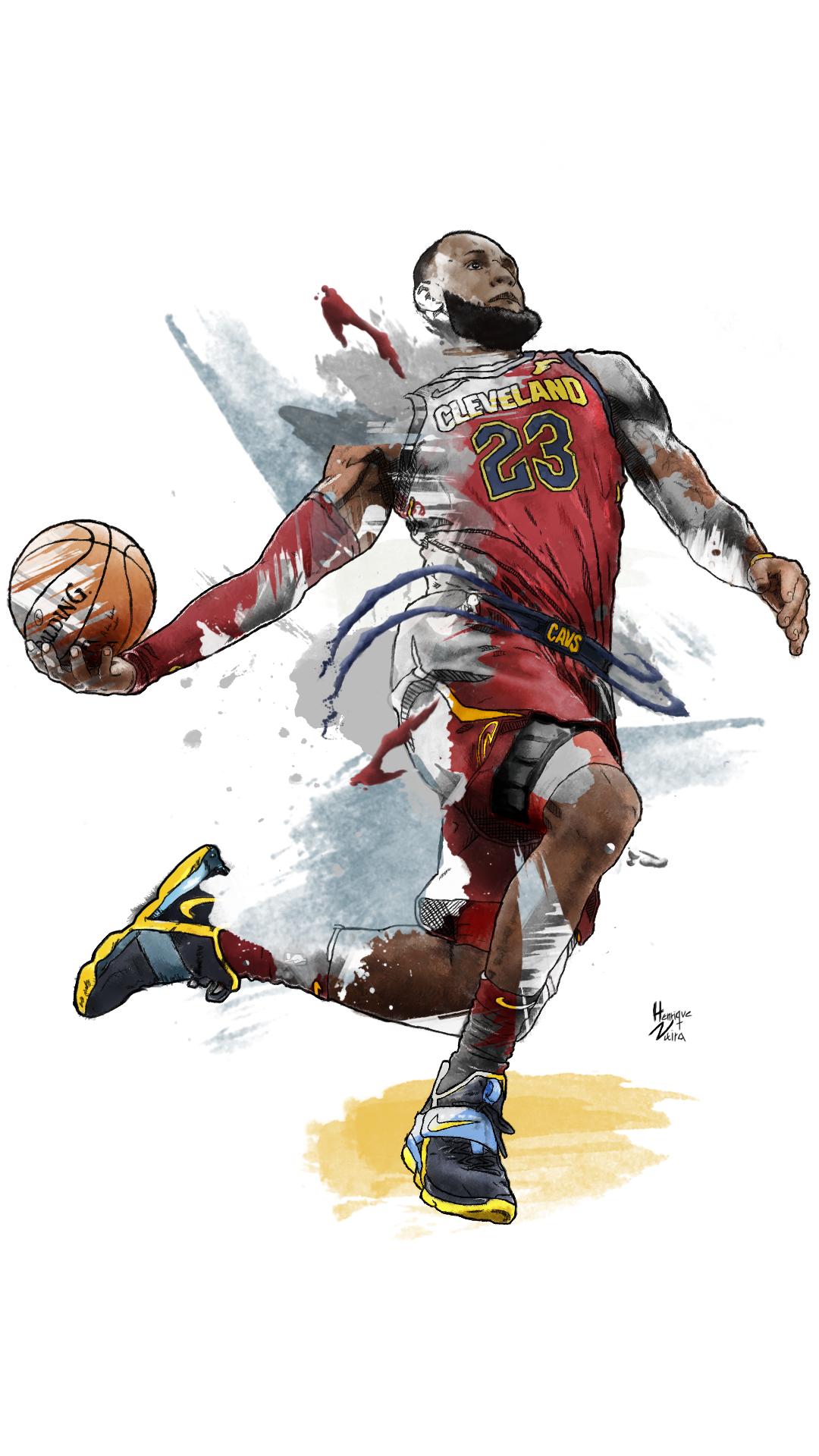 Lebron James Artwork Ver 2 Lebron James Artwork Basketball Desenho Basquete 2019 2018 2017 2016 La Desenhos De Basquete Arte De Basquete Tatuagens De Basquete