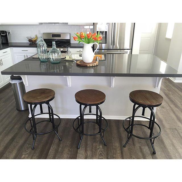 innovative design 219ea 63b74 Pinnadel Counter Height Bar Stool (Set of 2) by Ashley ...