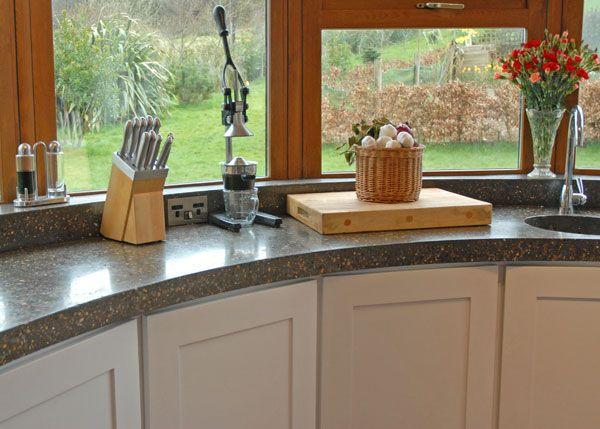 polished concrete countertops | polished concrete worktops