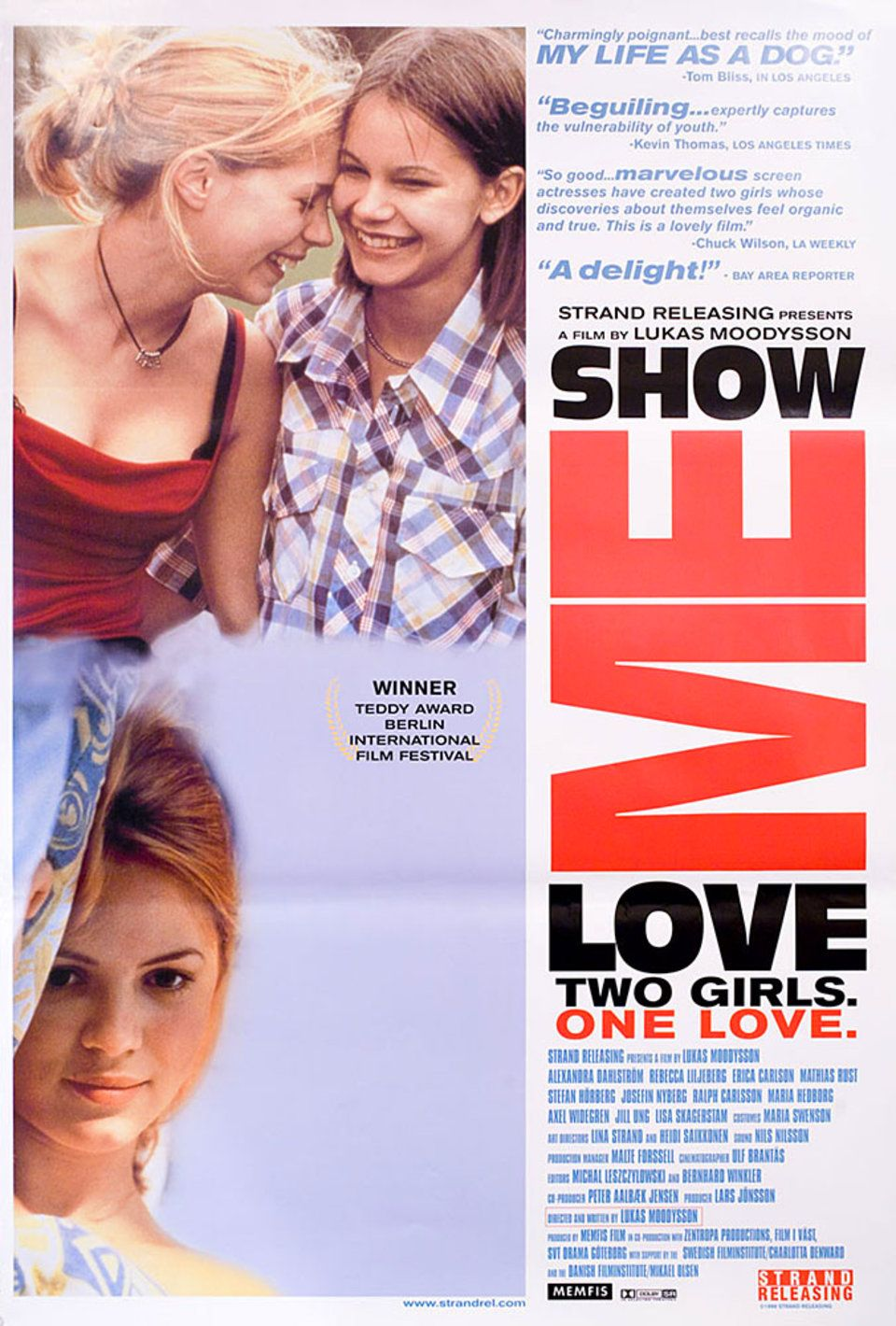 Show Me Love 1998 U S One Sheet Poster Posteritati Movie Poster Gallery New York Love Movie Movie Posters Good Movies