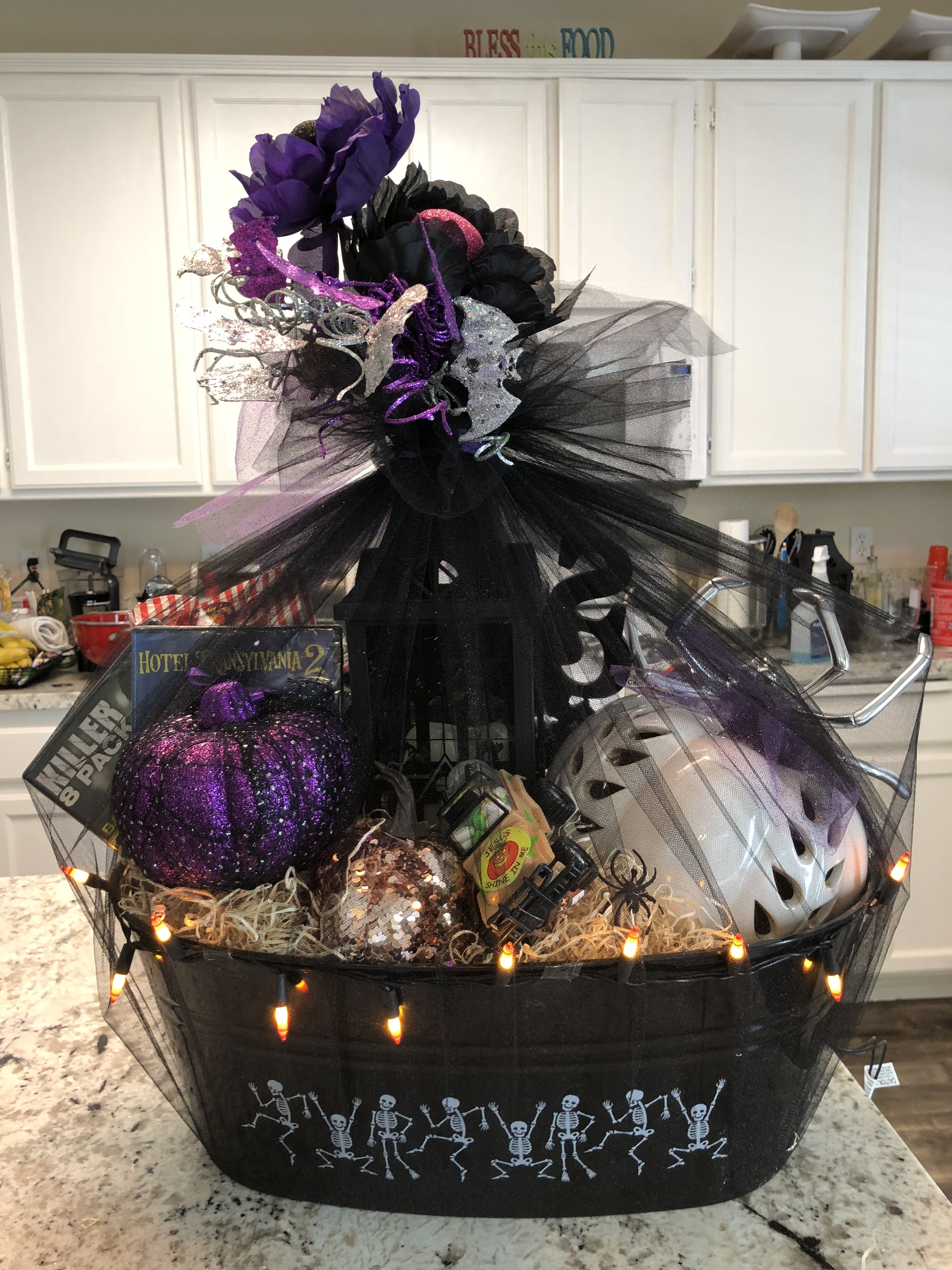 Halloween gift baskets for adults