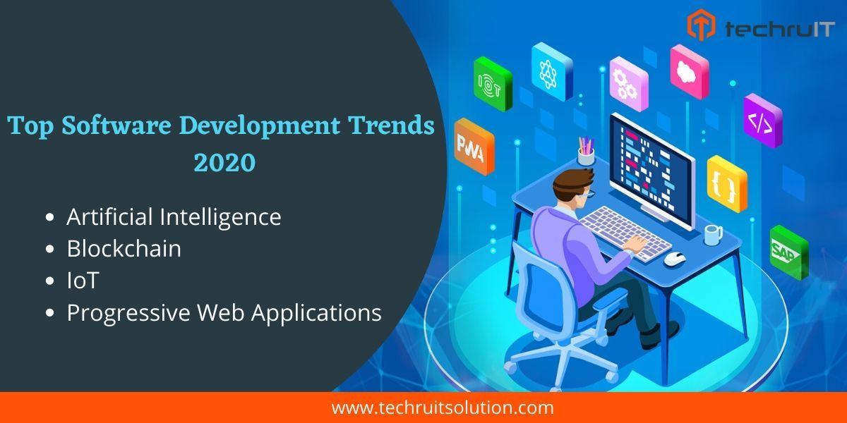 Top Software Development Trends 2020 Software Development Software Development Life Cycle Top Software