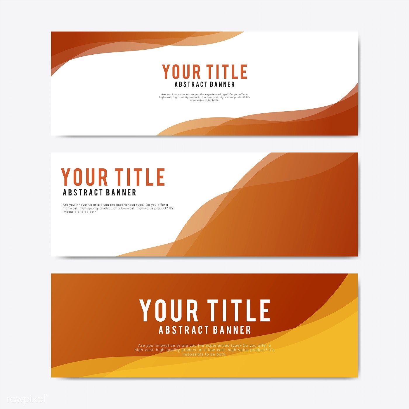 Lapel Pins Colorful And Abstract Banner Design Templates