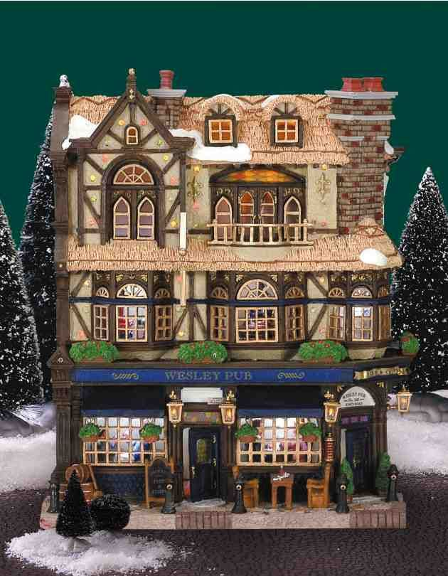 Lemax Christmas Village Sign Painter 12527