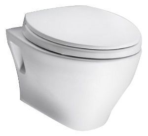 Toto Aquia Wall Hung Toilet One Of The Best Wall Toilets With A 1 6 Gpf Flush Rate Dual Flush Toilet Wall Hung Toilet Toilet Bowl