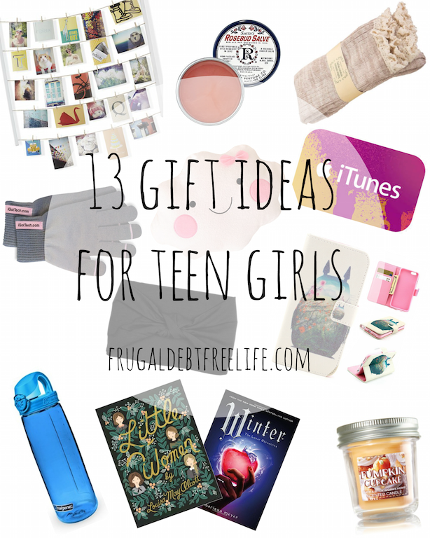 13 gift ideas under $25 for teen girls | Budgeting, Gift and Frugal