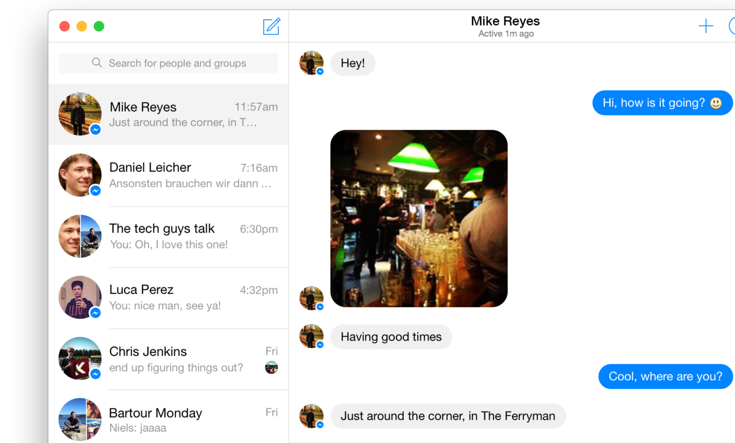 Facebook Messenger App Download DMG for Mac OSX