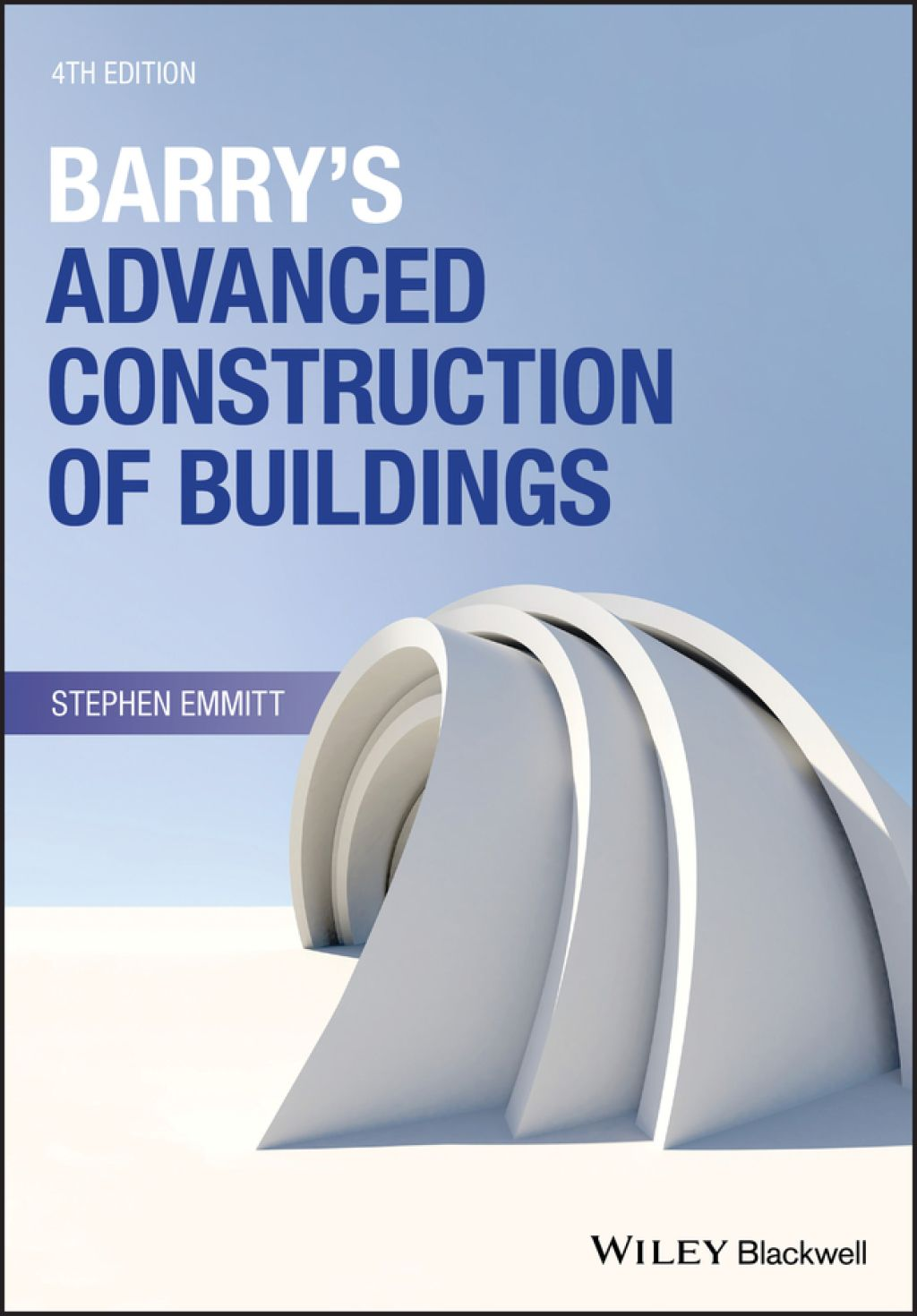 Barry's Advanced Construction of Buildings (eBook) in 2019