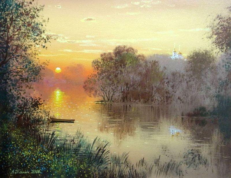 осенняя тишина картины художников: 7 тыс изображений найдено в  Яндекс.Картинках | Пейзажи, Пейзаж картина маслом, Живописные пейзажи