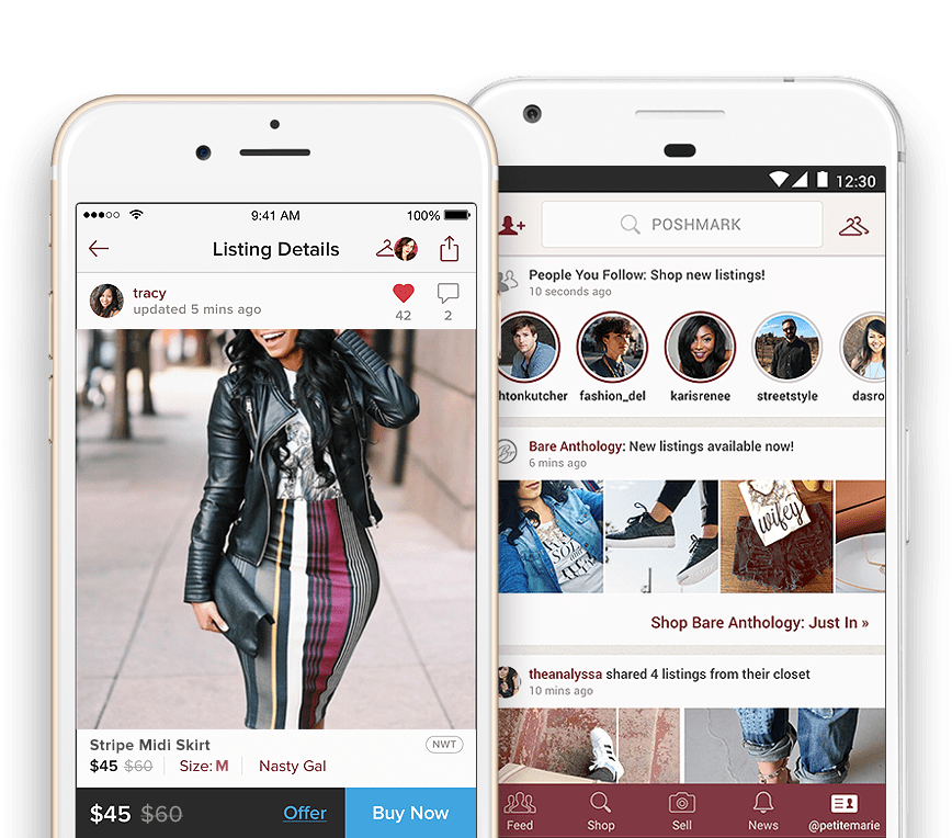 Hi! I love Poshmark, the 1 app to buy and sell clothing