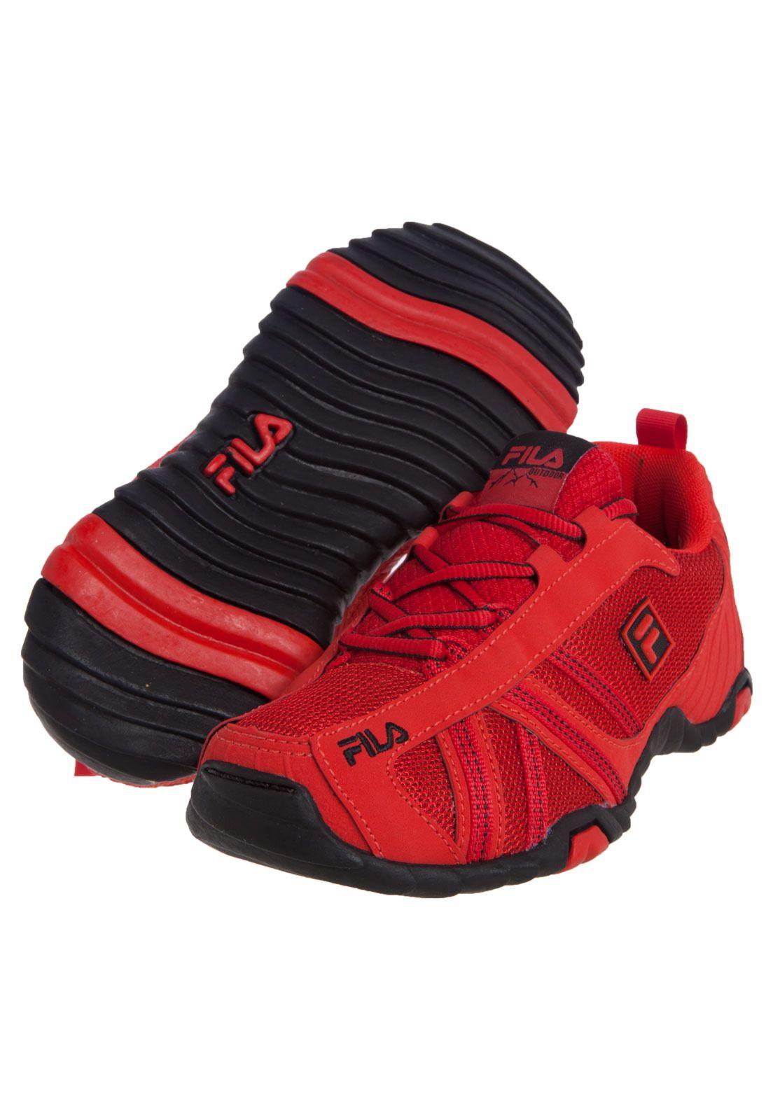 Tênis Fila Slant Sport W Vermelho - Compre Agora  2f36b1aa1776f