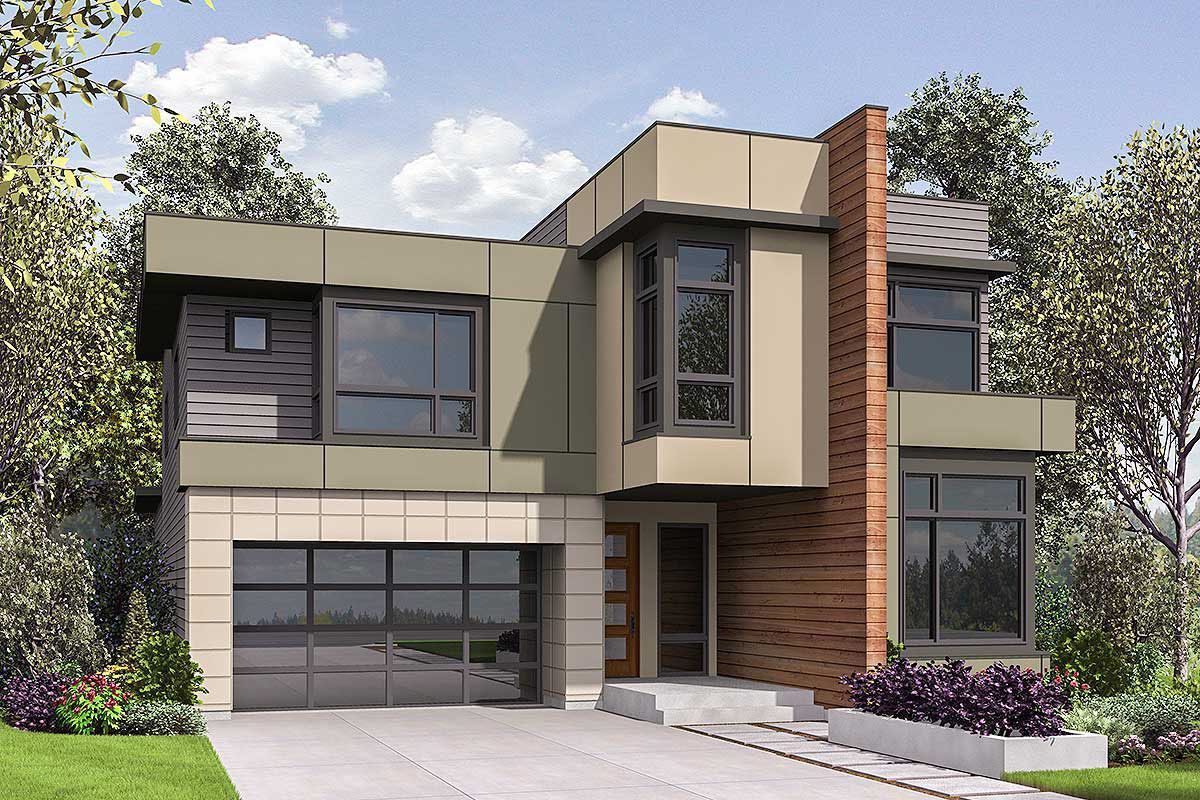 plan 23714jd spacious and modern architectural design house plans