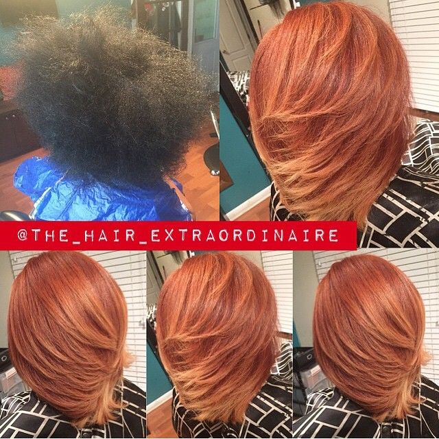 STYLIST FEATURE| Gorgeous #transformation done on natural hair by #SavannahGA stylist @the_hair_extraordinaire❤️ That color is flawless | #VoiceOfHair to be featured! ========================= Go to VoiceOfHair.com ========================= Find hairstyles and hair tips! =========================