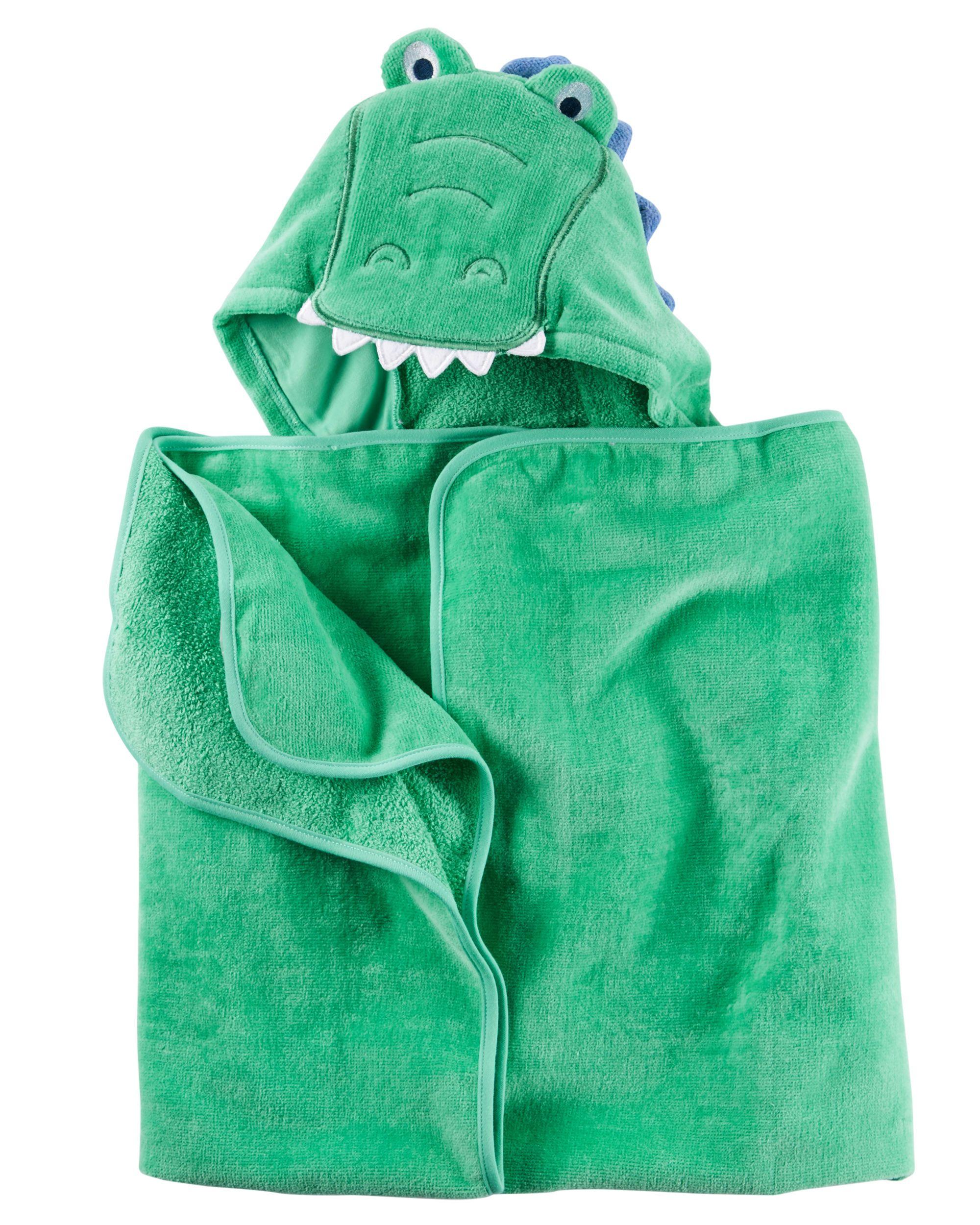Carters Baby Hooded Towel Dark Blue