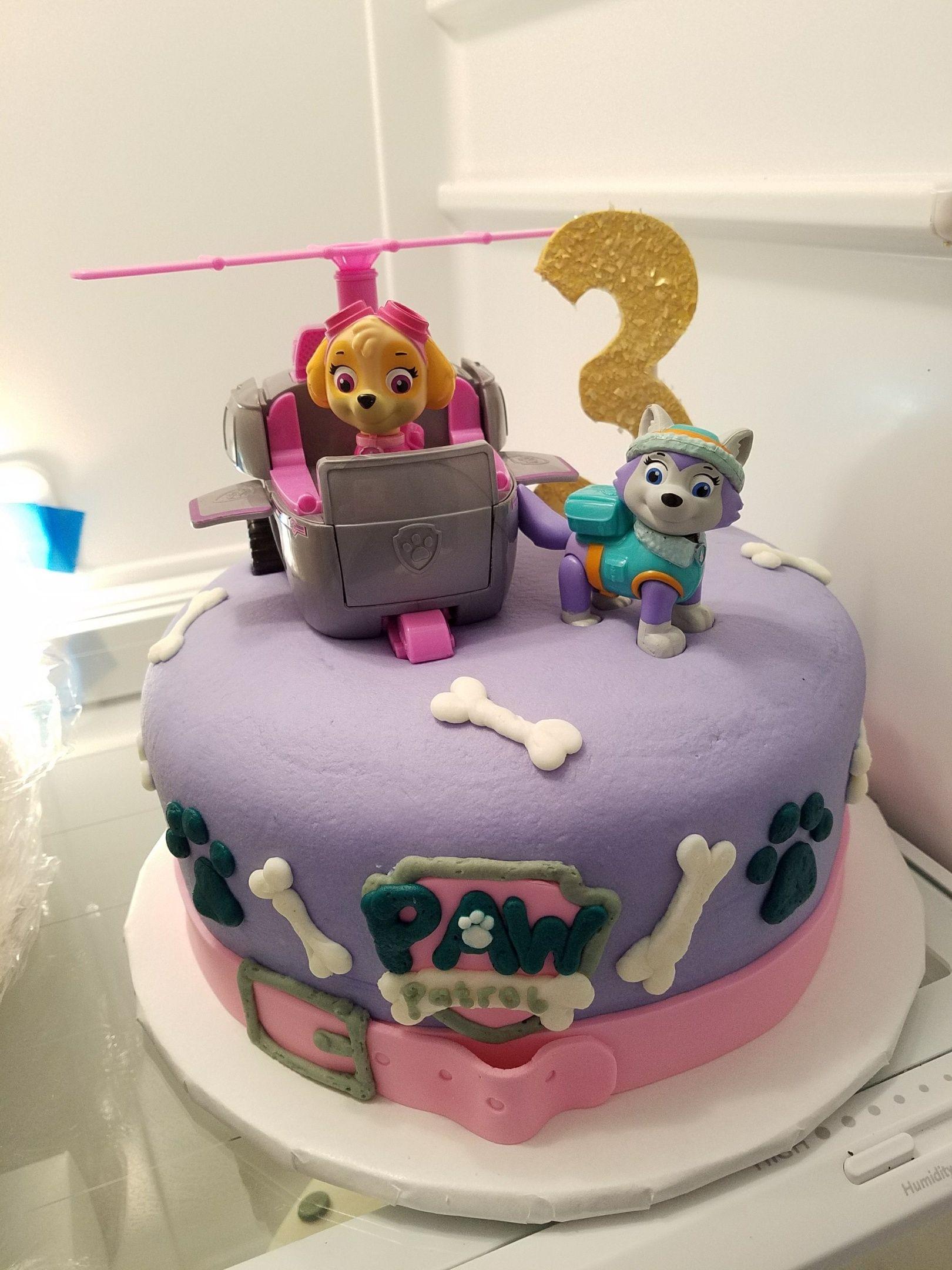 Paw patrol birthday cake adrienne co bakery paw